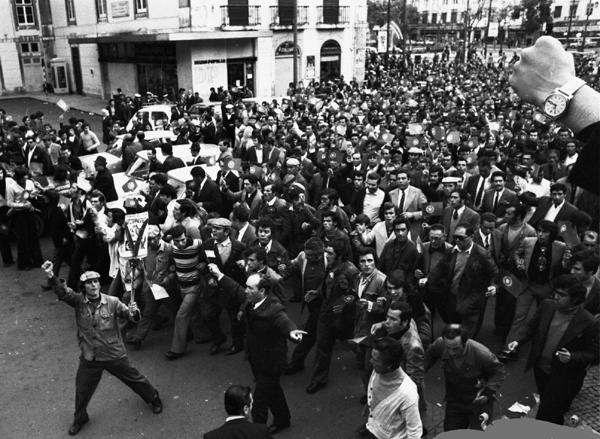 Lisbonne 1er mai 1974 (c) Michel Puech