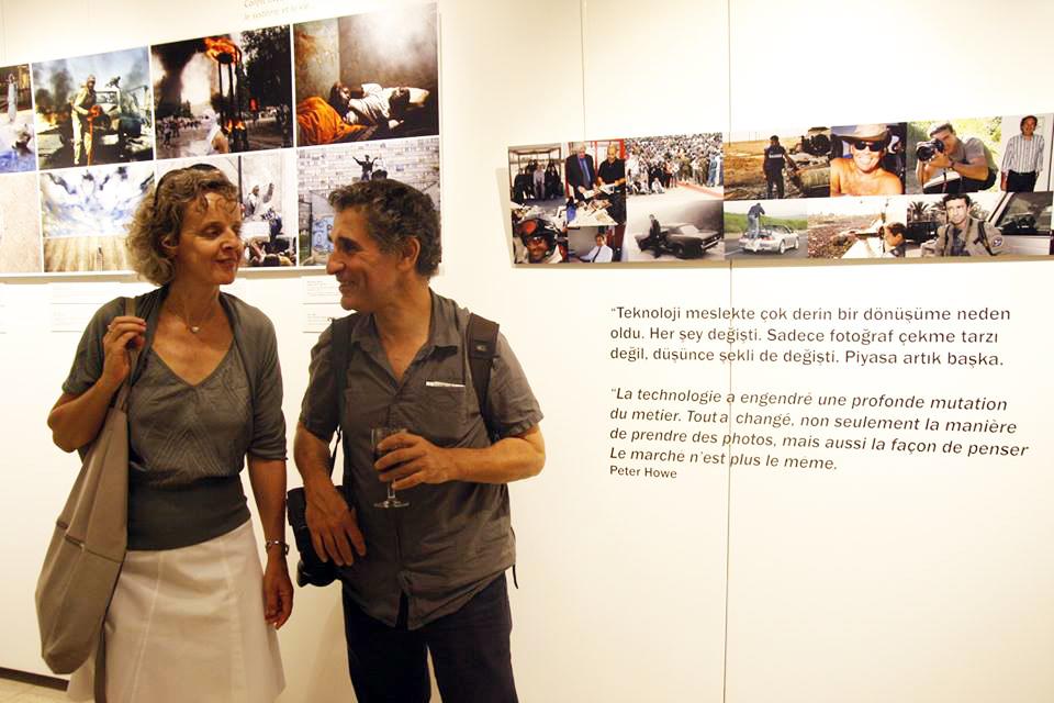 Michel Setboun et de Sylvie Dauvillier à l'Institut français d'Istamboul (c) DR
