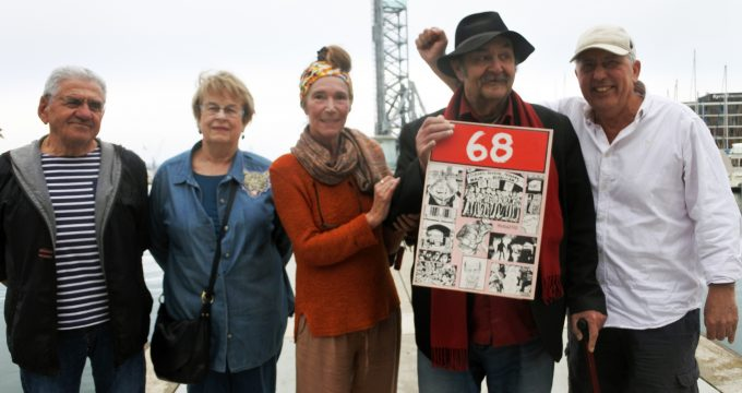 Photo du haut (de gauche à droite) : Toussaint Codaccioni, Yollande Le Gallo, Martine Faliu, Toni Giugiaro et Michel Puech.